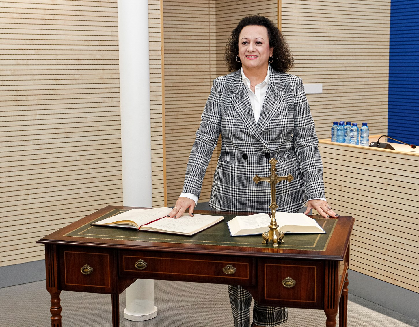 YOLANDA MUÑOZ TAKES OFFICE AS PRESIDENT OF THE PORT AUTHORITY OF CARTAGENA